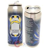 New San Diego Chargers Thermo Can Travel Tumbler Cup