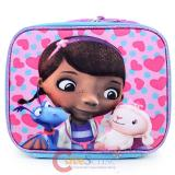Disney Jr. Doc Mcstuffins School  Lunch Bag Snack Bag - 3D Emblem Figure