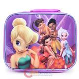 DisneyTinkerBell Fairies  School  Lunch Bag Snack Bag - 3D Emblem Figure