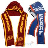 NFL Washington Redskins  Hooded Knit Scarf with Pocket