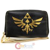 The Legend of Zelda Skyward Sword TriForce Logo Zip Round Wallet