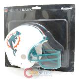 NFL Miami Dolphins Helmet Coin Bank