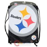 NFL Pittsburgh Steelers Drawstring Backpack Sling Bag
