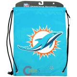 NFL Miami Dolphins  Drawstring Backpack Sling Bag