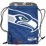 NFL Seattle Seahawks Drawstring Backpack Sling Bag