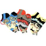 Pokemon XY Ankel Socks Set 3 Pair - Pikachu Pokeball