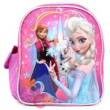 "Disney Frozen Elsa Anna 12"" School Backpack with Olaf - Ice Castle"