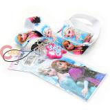 Disney Frozen Elas Anna Sister Lanyard Keychain ID Holder with Logo Charm Dangle