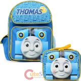 Thomas Tank Engine & Friends Thomas Medium School Backpack Lunch Bag Set : No1 Sodor