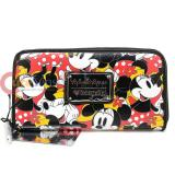 Disney Minnie Mouse Multi Face All Over Zip Around Wallet