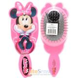 Disney Minnie Mouse Hair Brush Large Diecut Pink Hair Accessory