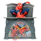 Marvel Ultimate Spiderman 3D Figurine Coin Bank Alarm Clock in One