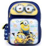 """Despicable Me 2 Minions 16"""" Large School Backpack -Minions Big Eye"""
