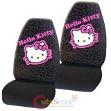 Sanrio Hello kitty Front Car Seat Cover 2pc Set - Collage