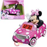 Minnie Mouse Bow tique Alarm Clock Music Speech Sound Effect Watch