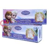 Disney Frozen Elsa Anna 40pc Sandwich Bags Set Food Zip Bag