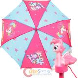 My Little Pony Kids Umbrella with 3D Pinkie Pie Figure Handle