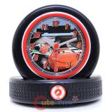 Dinsey Cars Mcqueen Tire Molded Snooze Alarm Clock Watch