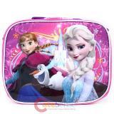 Disney Frozen School Lunch Bag Elsa Anna Oalf  Insulated Snack Bag -Magic Pink