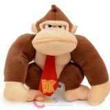 Nintendo Super Mario Donkey Kong Plush Doll Key Chain Clip On Coin Bag
