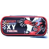 Nintendo Pokemon XY Yveltal Faux Leather Pencil Case