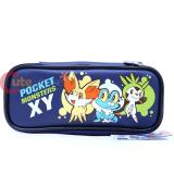 Nintendo Pokemon XY Pencil Case with  Fennekin Froakie Chespin