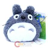 Studio Ghibli My Neighbor Gray Totoro Mini Plush Doll Key Chain 3.5in