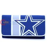 NFL Dallas Cowboys Organizer Mesh Wallet Clutch Ladies Wallet