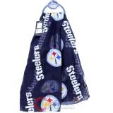 NFL Pittsburgh Steelers Logo All Over Prints Infinity Scarf