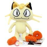 """Pokemon Meowth Plush Doll Soft Stuffed Toy 8"""""""
