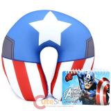 Marvel Avengers Captain America Neck Rest Pillow Travel Cushion with Mini Note
