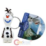 Disney Frozen Olaf Key Chain 3D PVC Figure Key Holder