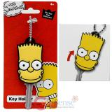 Simpson Family Bart Face Key Cap Key Holder