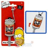 Simpson Family Homer Duff Beer Key Cap Key Holder
