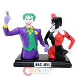SDCC 2014 Exclusive DC Comics Harley Quinn & Joker Mad Love Resin Bank Set