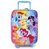 My Little Pony Rolling Luggage SuiteCase Travel Bag -Pony Rocks