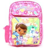 "Disney Jr. Doc Mcstuffins Large School Backpack 16"" Book Bag"