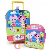 Lalaloopsy Rolling Luggage Suite Case with Small Backpack Set