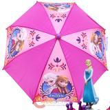 Disney Frozen Elsa and  Anna Kids Umbrella with 3D Elsa Figure Handle