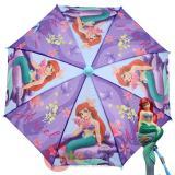 Disney Princess Little Mermaid Kids Umbrella with 3D Ariel Figure Handle