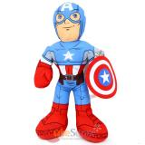 "Marvel Avengers Captain America Jumbo Plush Doll 24"" Bedding Cuddle Pillow"