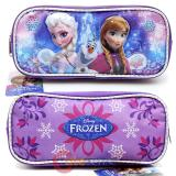 Disney Frozen Pencil Case Elsa Anna Accessory Case  Bag - Ice Snowflakes