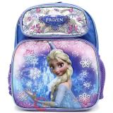 "Disney Frozen Elsa 12"" School Backpack Girls Bag - Ice Snowflakes"