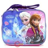 Disney Frozen School Lunch Bag Elsa Anna Insulated Snack Bag - Ice Snowflakes