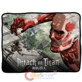 Attack on Titan Giant  Microfiber Plush Throw Blanket  (50 x60 )
