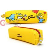 The Simpson Family Maggie Pencil Case Faux Leather  Pouch Bag