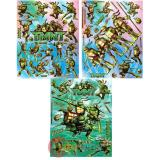 TMNT Teenage Mutant Ninja Turtles  Stickers Set of 3