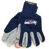 NFL Seattle Seahawks Sports Men's Utility Work  Gloves