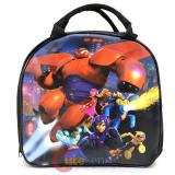Disney Big Hero 6 School Lunch Bag Insulated  Snack Bag with Bottle - Black