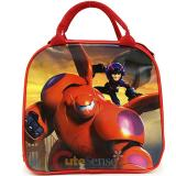 Disney Big Hero 6 School Lunch Bag Insulated  Snack Bag with Bottle - Red